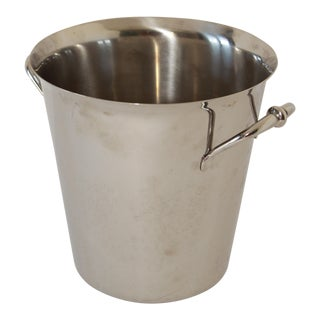 French Silver Champagne Bucket