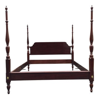 Henkel Harris Mahogany Queen Bed For Sale