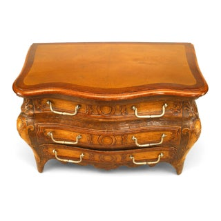 Early 19th C. French Regence Style Miniature Commode-Form Box Preview
