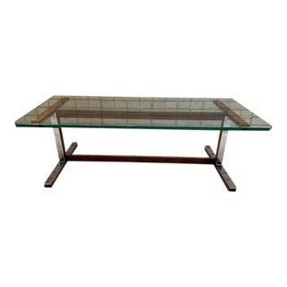 Mid Century Modern Milo Baughman Rectangular Coffee Table For Sale
