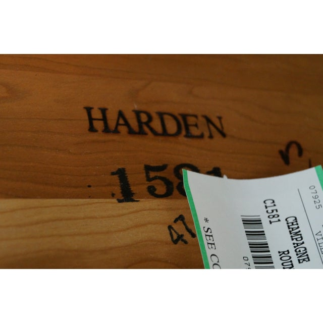 Harden Solid Cherry Three Tier Side Tables - Pair - Image 9 of 10