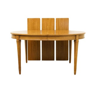 Late 20th Century Vintage Drexel Triune Collection Dining Table For Sale