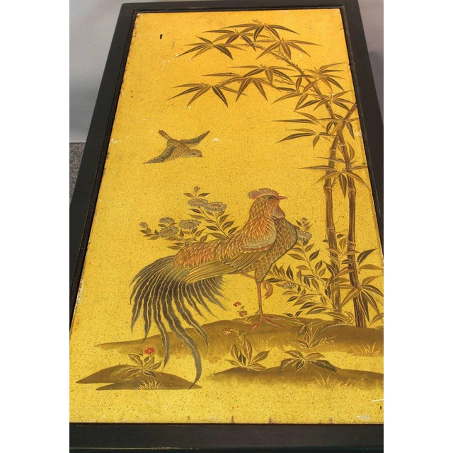 Chinoiserie Lacquered Cocktail Table For Sale - Image 9 of 11