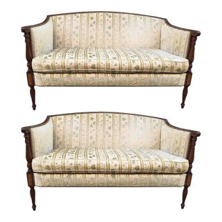 Two Regency Style Sofas For Sale