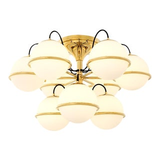 9 Globe Ceiling Lamp | Eichholtz Nerano For Sale