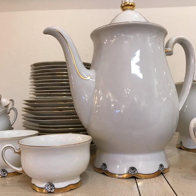 1920s Royal Tettau Coffee Tea & Dessert Set - 36 Pieces - Image 7 of 9
