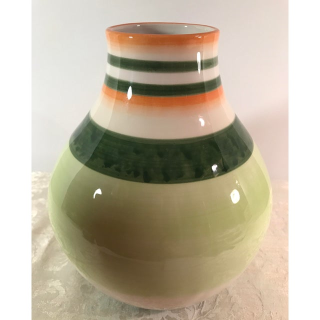 Fitz & Floyd Ceramic Vase - Image 6 of 7