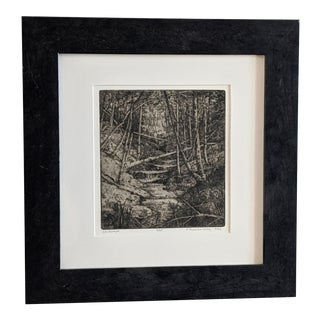 Gillian Pederson-Krag Landscape Etching, 2002 For Sale