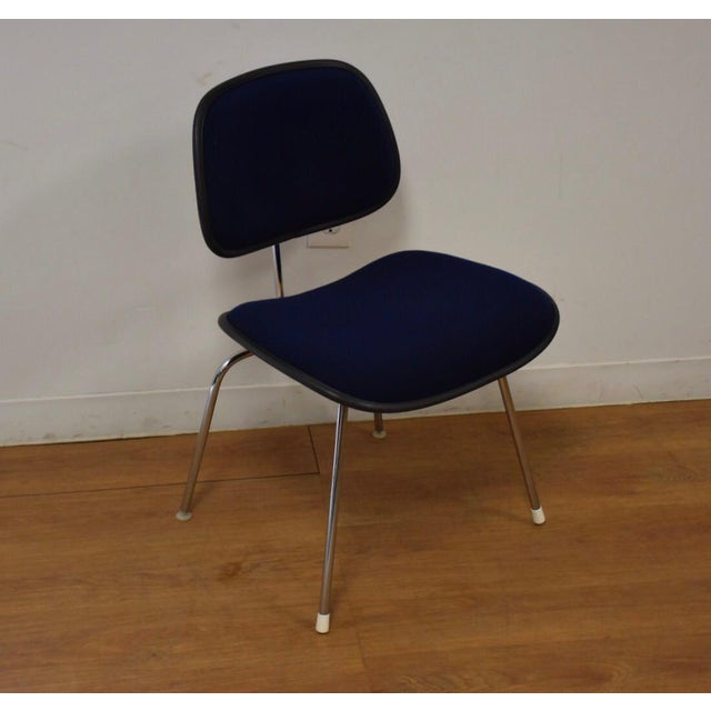 Blue Herman Miller Dcm Eames Chair For Sale - Image 8 of 8