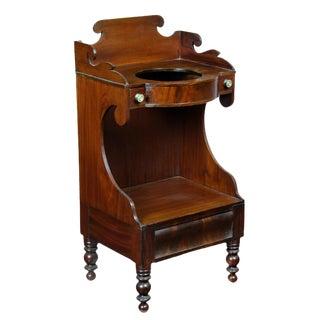 Classical Mahogany Washstand