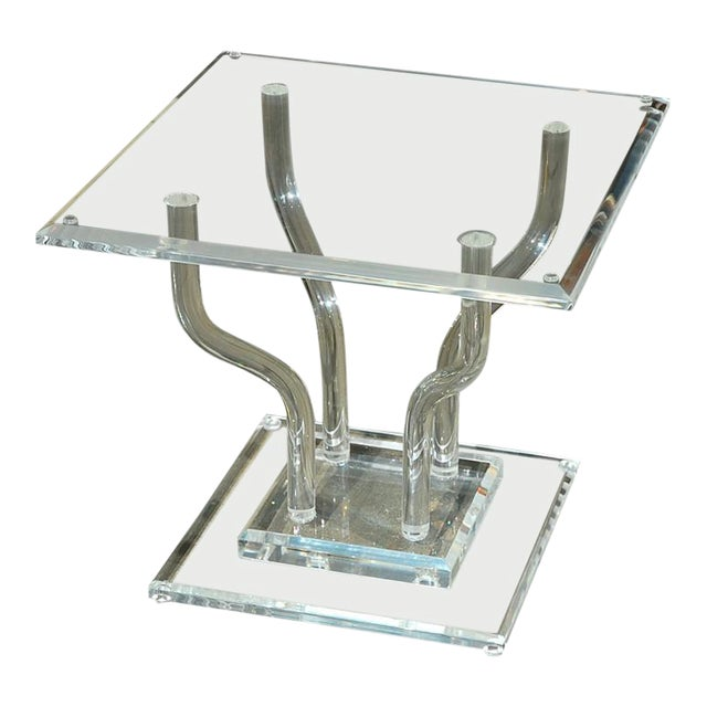 Lucite Occasional Table - Image 1 of 7