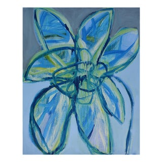 """Brenda Zappitell """"Flower Iii"""", Painting For Sale"""