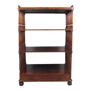 19th Century Regency Rosewood Etagere For Sale