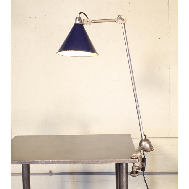 Bernard-Albin Gras No. 201 Clamp-On Lamp For Sale In New York - Image 6 of 11
