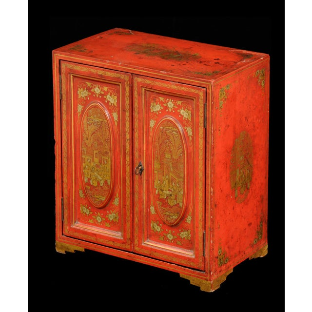 Antique Chinese Export Miniature Cabinet, Circa 1850 For Sale - Image 9 of 9