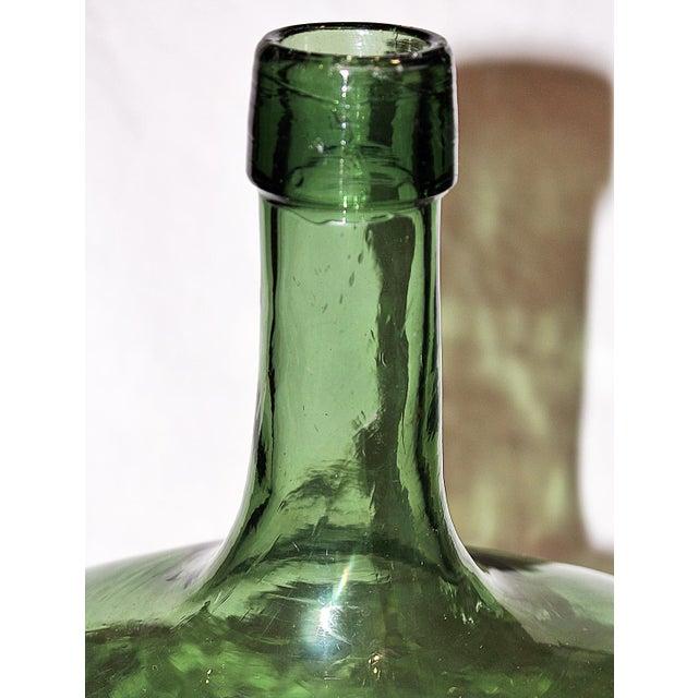 Demijohn Antique Blown Glass Bottle - Image 4 of 7