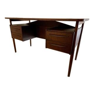 Maurice Villency Mid Century Danish Floating Desk For Sale