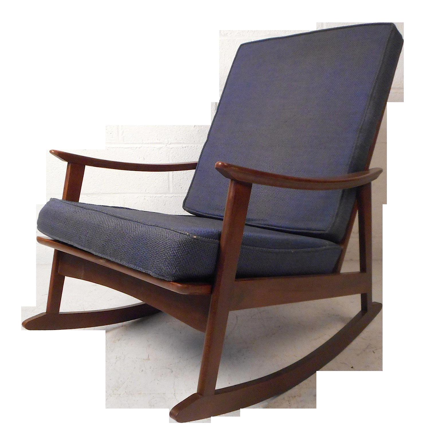 Mid Century Modern Rocking Chair Chairish