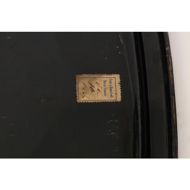Early 19th Century Italian Tole Tray For Sale - Image 5 of 10