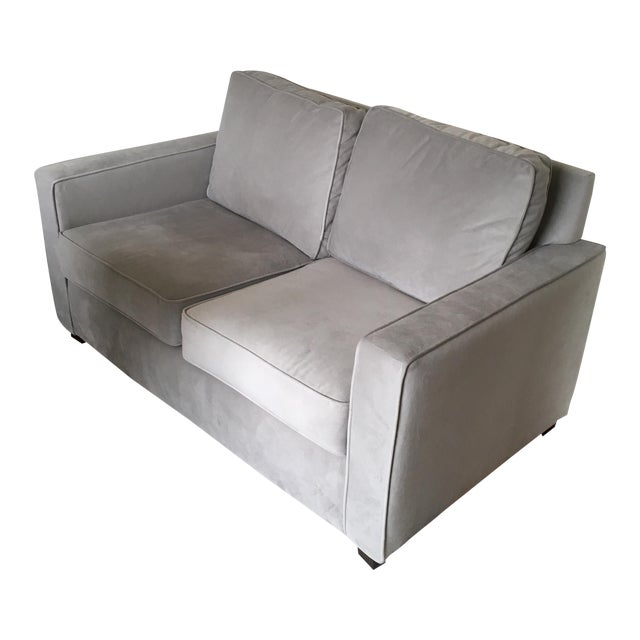West Elm Henry Basic Twin Sleeper Sofa For Sale