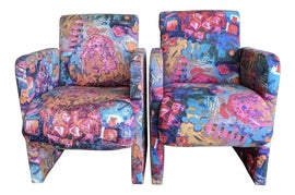 Image of Memphis Club Chairs