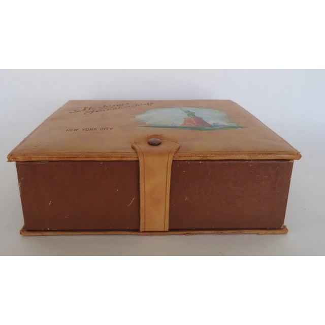 Vintage Leather New York Souvenir Box - Image 7 of 8