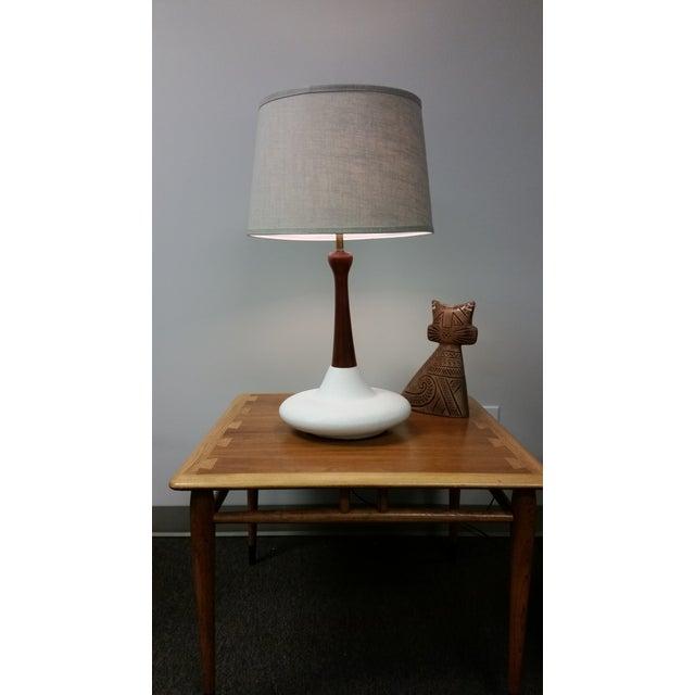 Mid-Century Ceramic Table Lamp - Image 3 of 3