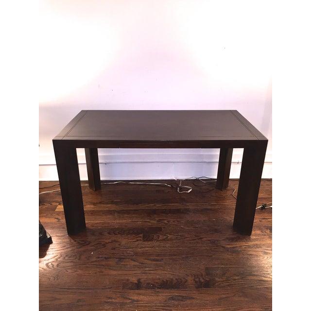 Keller Williams Mid-Century Parson Style Desk - Image 2 of 6