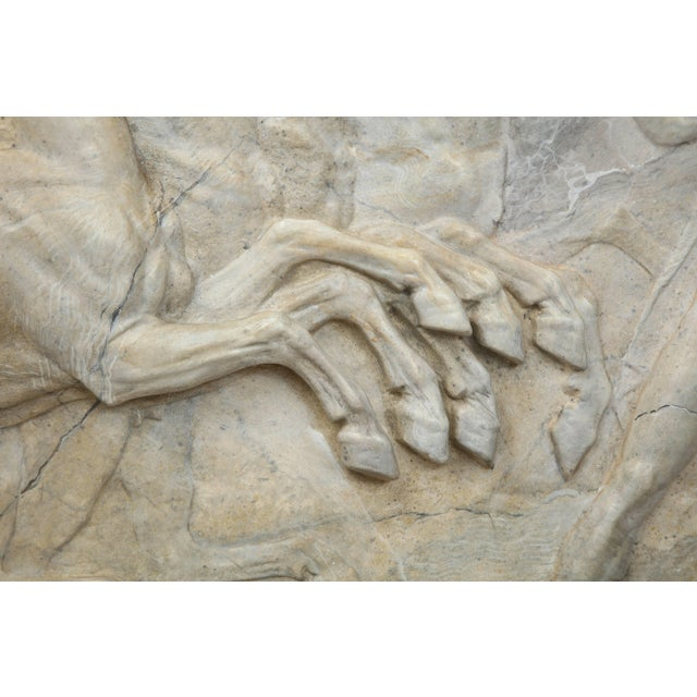 Neoclassical Neoclassical Plaster Panel For Sale - Image 3 of 9