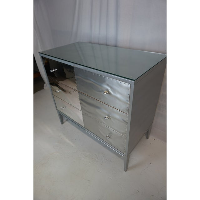 Gray Paul McCobb Planner Group Brutalist Revision Dressers - A Pair For Sale - Image 8 of 10