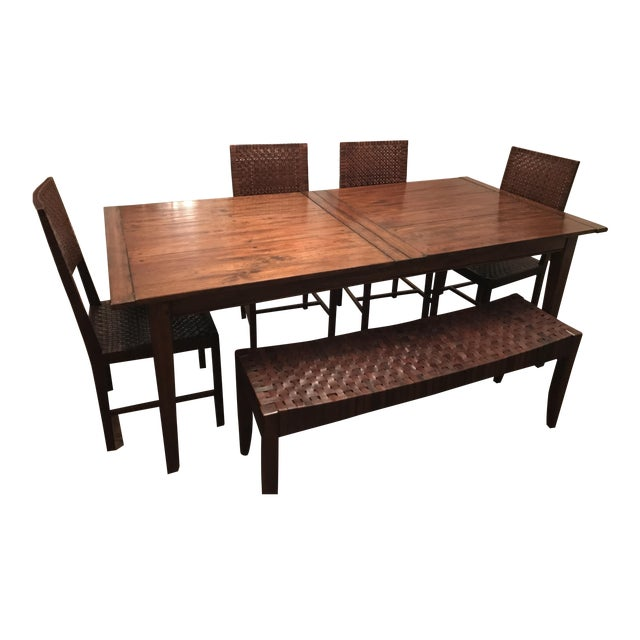 Farm Table Dining Set - Image 1 of 4