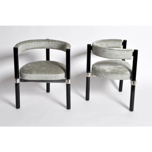 1960s 1960s Hungarian Round Back Chairs - Set of Six For Sale - Image 5 of 11