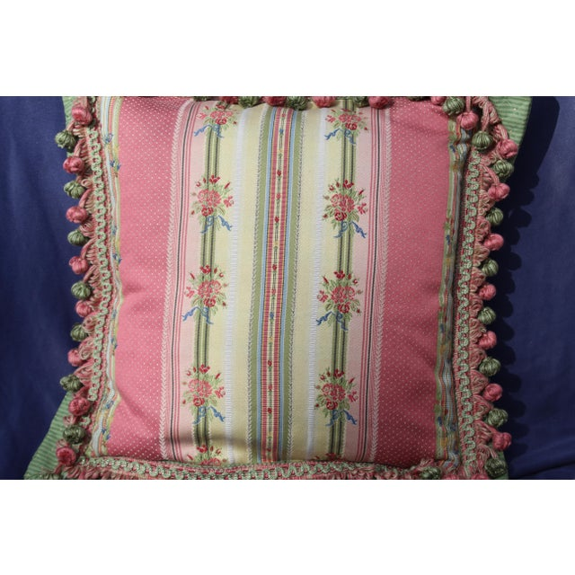 Silk Mid 20 C. French Chair Pillow For Sale - Image 7 of 9