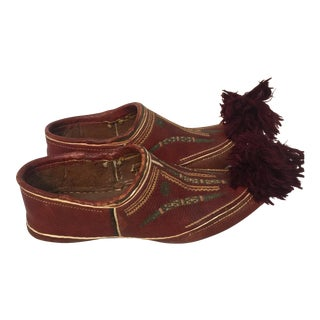 South American Native Moccasins For Sale