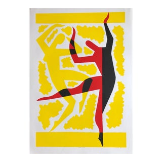 "Original Large ""Dance of Life"" Serigraph Print by Sidney Jonas Budnick For Sale"