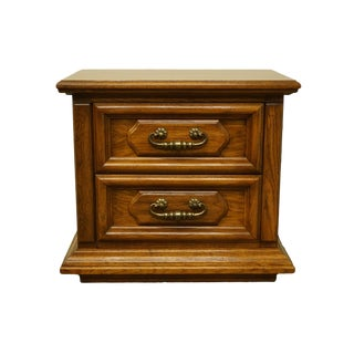 Thomasville Furniture Manuscript Collection Italian Nightstand For Sale