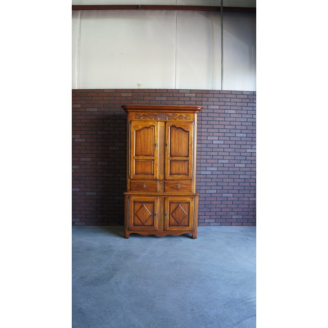 20th Century French Country Armoire For Sale - Image 11 of 11