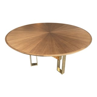 Donghia Starre Round Dining Table For Sale