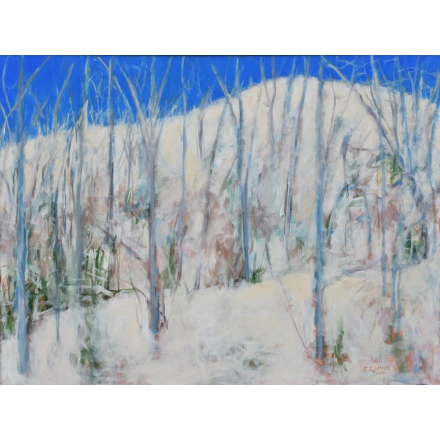 """The Morning After the Snowstorm"", Contemporary Landscape Painting by Stephen Remick. For Sale - Image 12 of 12"