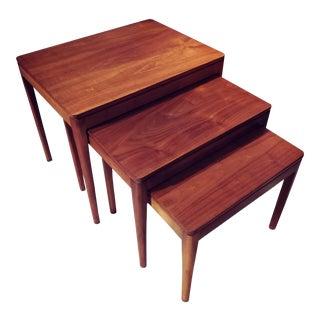 Mid-Century Modern Kip Stewart for Drexel Nesting Tables - Set of 3