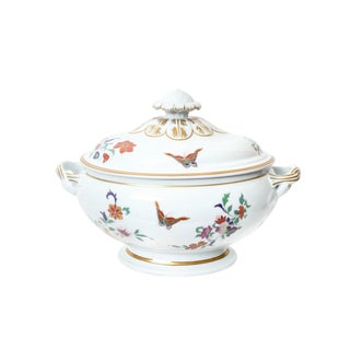 Mottahedeh Porcelain Chinoiserie Pattern Soup Tureen For Sale