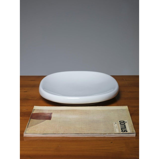 """Angelo Mangiarotti """"Tremiti"""" Bowl by Angelo Mangiarotti for Danese For Sale - Image 4 of 5"""
