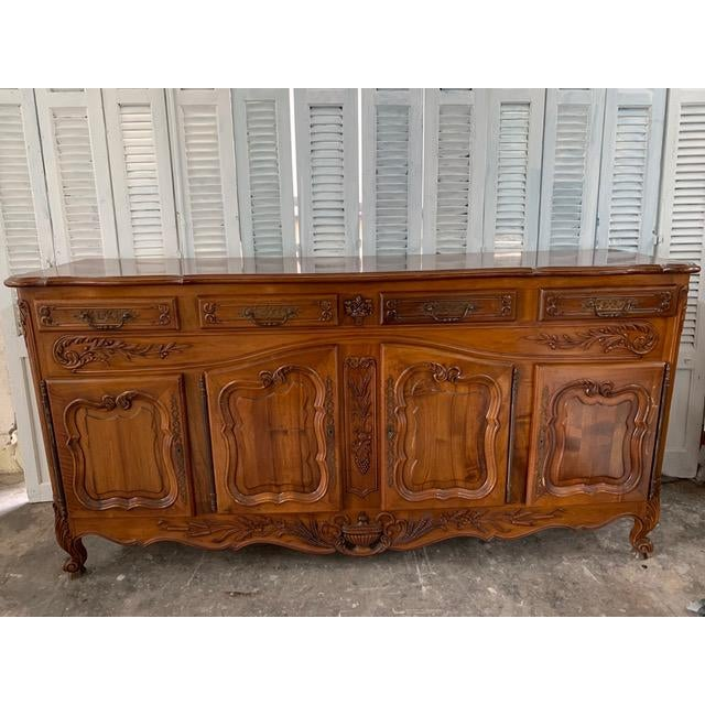 19th Century Louis XV Style Enfilade Buffet For Sale - Image 12 of 12