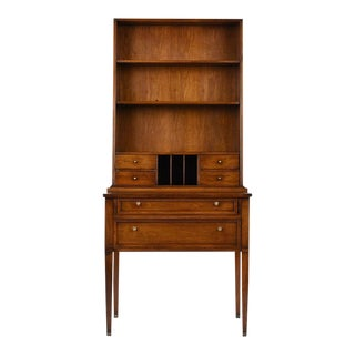Regency-Style Secretaire and Bookcase For Sale
