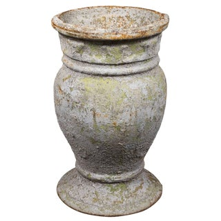 Early 20th Century Cast Iron Vessel From Russia For Sale