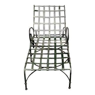 Modern Brown Jordan Florentine Aluminum Chaise For Sale