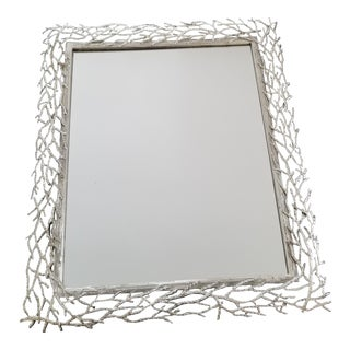 Silver Branch Table Wall Mirror