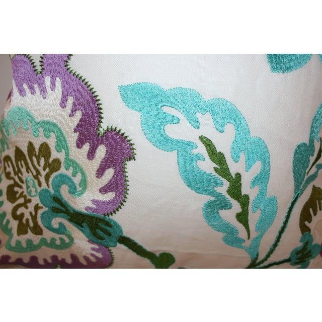 Manuel Canovas Samira Aqua Down Pillow - Image 4 of 5