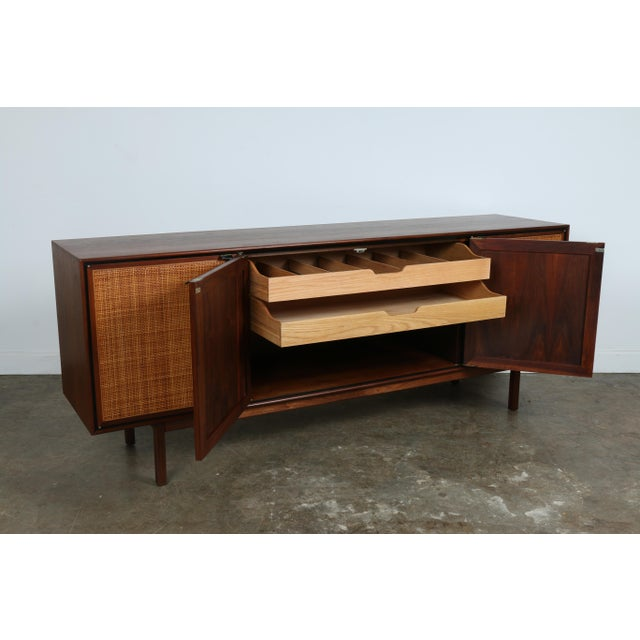 Walnut Cane Credenza by Founders - Image 5 of 11