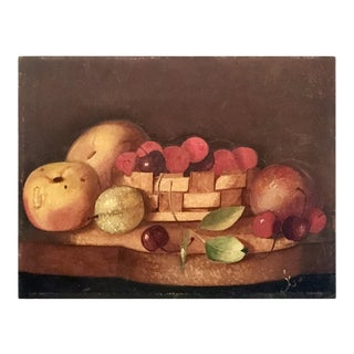Mid 19th Century Tabletop Still-Life Painting For Sale